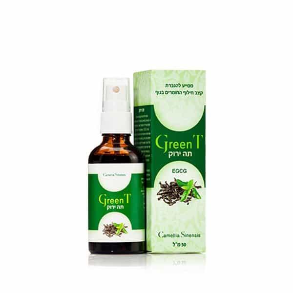 GreenT – תרסיס תה ירוק